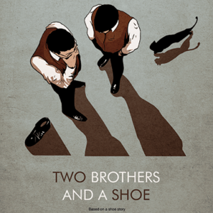 Two brothers and a shoe